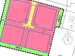 Bebauungsplan für Baugebiet Tauben
